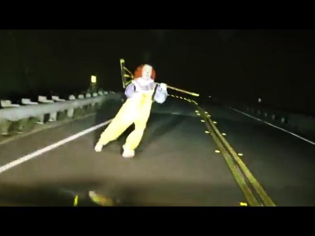 Топ 15 Страшных Клоунов Снятых на Видео