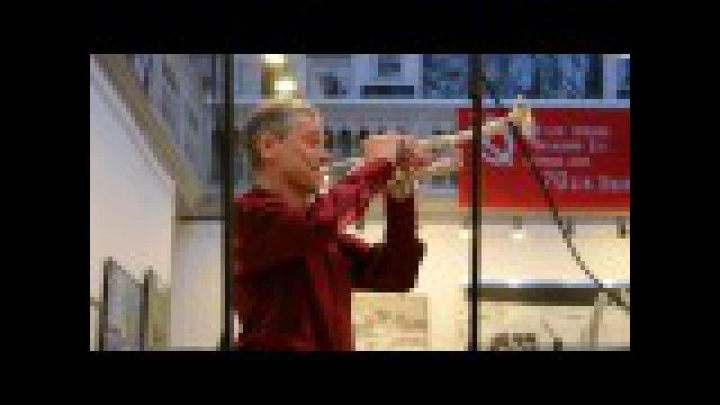 """Геннадий Никонов (труба-контртенор)П.И.Чайковский ария Ленского из оперы """"Евген..."""