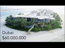 Inside a $60 Million Dubai Mega Mansion! - Palm Jumeirah Island Villa