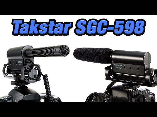 Микрофон Пушка с AliExpress Takstar SGC 598