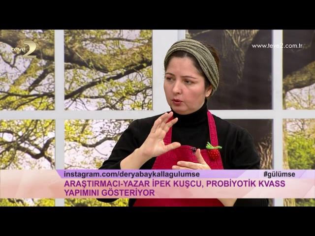 Derya Baykal'la Gülümse: Peynir Altı Suyu ve Probiyotik Kvass Yapımı