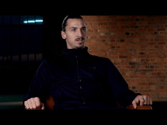 Zlatan Ibrahimovic om barn och träning