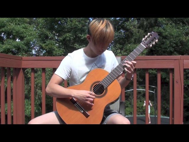Sungmin Lee: Franz Schubert - 'Ave Maria' - Classical Guitar