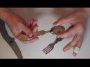 Посылка из Китая № 306 Походный нож с вилкой и ложкой