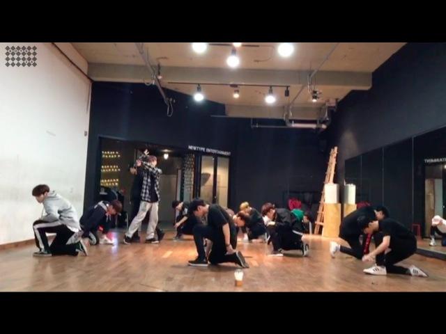 소년24 SEMI FINAL 스페셜 스테이지 안무연습영상 콜라보 유닛 옐로우 화이트