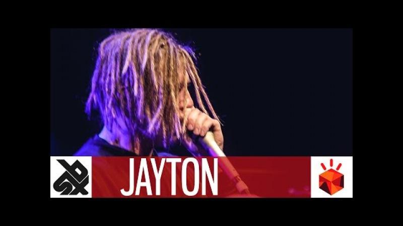 JAYTON | Grand Beatbox SHOWCASE Battle 2017 | Elimination