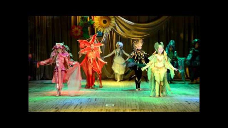 Образцовый детский театр моды 'Креатив' коллекция 'Сказки подводного мира'