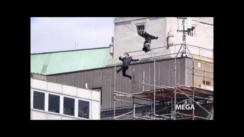 Tom Cruise se machuca durante gravação de Missão Impossível VEJA O VÍDEO