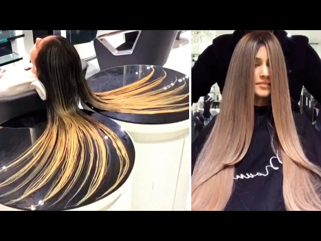 TOP 15 Amazing Hair Color Transformations by Mouniiiir