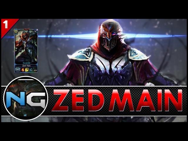 NeoGoD Zed Main Montage 0 025 000 Million Mastery Points League of Main