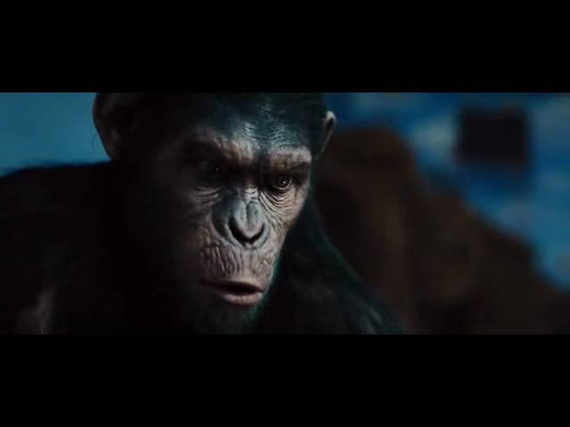 Rise of the planet of the apes - ''No!'' scene