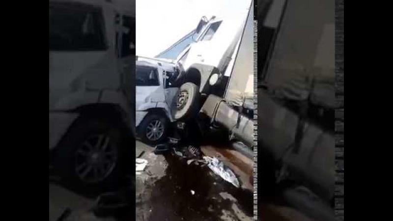 Авария на М4 Дон под Каменском, 100 км от Ростова 6 погибших, дтп у маза отказали тор...