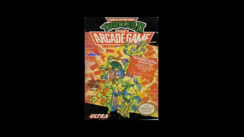 [NostalgiA] [NES \ Dendy] Teenage Mutant Ninja Turtles 2 The Arcade Game- Full Original Sound ost