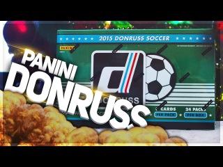 BOX OPENING 1/6 ✪ PANINI Donruss Soccer 2015