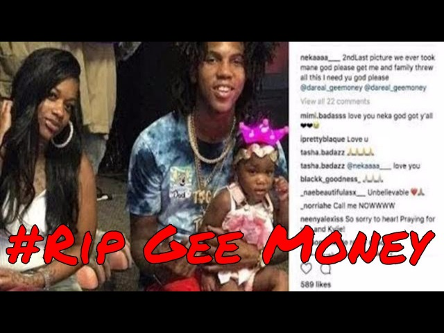 Rapper Gee Money Last Words B4 Killed In Baton Rouge Sunday Sept 10, 2017 RipGeeMoney