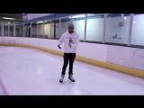 How To Do Backwards Hockey Tight Turn - Learn Backwards Power Turn Ice Skating T (1)