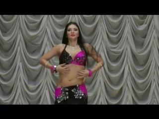 Superb Hot Arabic Belly Dance Alena Papucha 7191