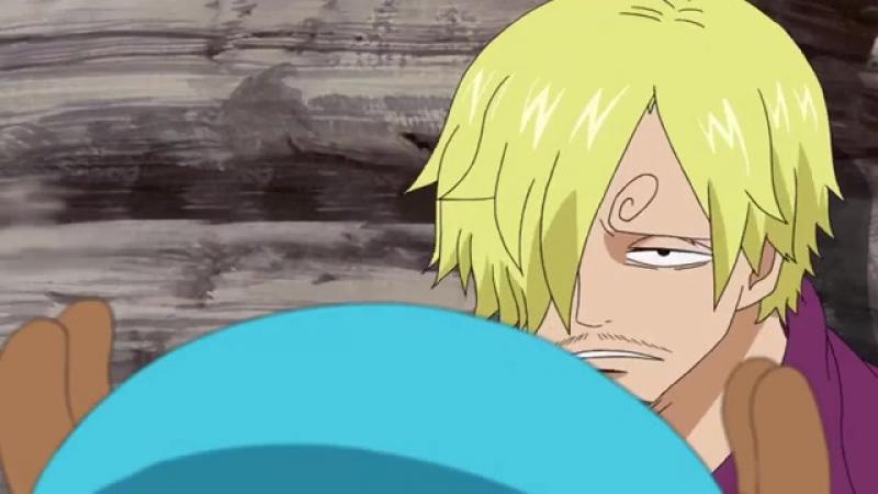 Момент из Special 1 серии аниме Ван-Пис: Приключение в Небуландии / One Piece: Adventure of Nebulandia.