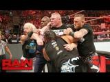 [WWE QTV]Мандей Найт[Raw]☆[Brock Lesnar brawls with Samoa Joe]☆[Брок Леснар драки с Самоа Джо]]12 June 2017]720]