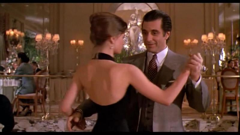 Танго из фильма Запах Женщины (Музыка Carlos Gardel - Por Una Cabeza)