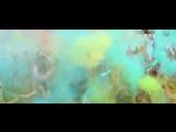 Фестиваль красок Холи в аквапарке Зурбаган