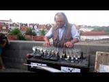 Бетховен, игра на бокалах, Карлов Мост