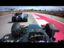 Button makes up 8 places on first lap in Austin