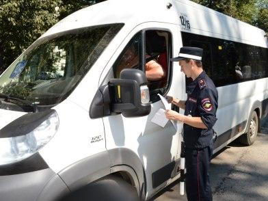 По контролю за перевозками пассажиров автобусами