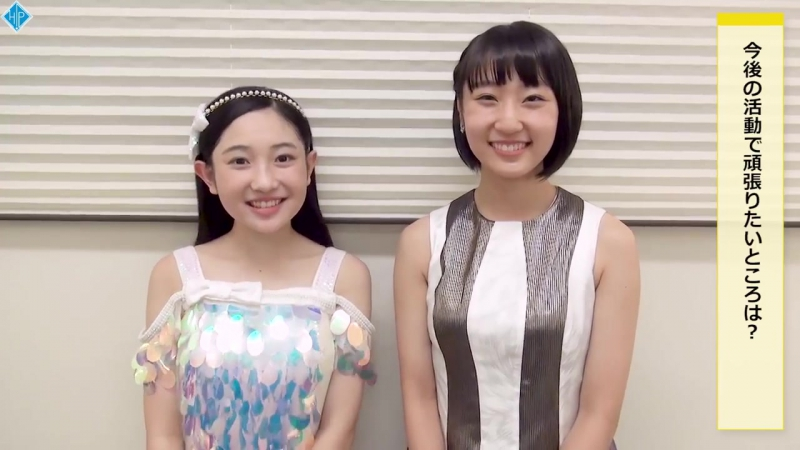Yanagawa Nanami Danbara Ruru first live with Juice=Juice interview (H!S 229)