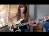 Молодая бас -гитаристка Patrice Rushen - Forget Me Nots Bass Cover