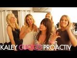 Watch as we get Kaley Cuoco glammed up for her Proactiv video shoot  Jamie Greenberg Makeup