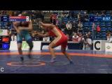 55кг Qualification Irina OLOGONOVA (RUS) vs. Burcu KEBIC (TUR)