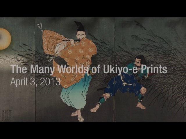 Art of Japan The Many Worlds of Ukiyo-e Prints