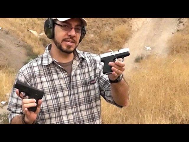 Beretta Nano Vs Kahr CM9 at the Range