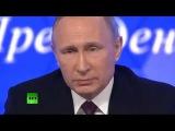 Вопрос Путину В.В. в прямом эфире от НОД! Марк Сагадатов на пресс-конференции 23.12.2016