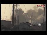 Армейские подразделения при поддержке со стороны ВВС Сирии уничтожили штаб террористов, армия завоевания и устранить многие из них Брив северная Хама