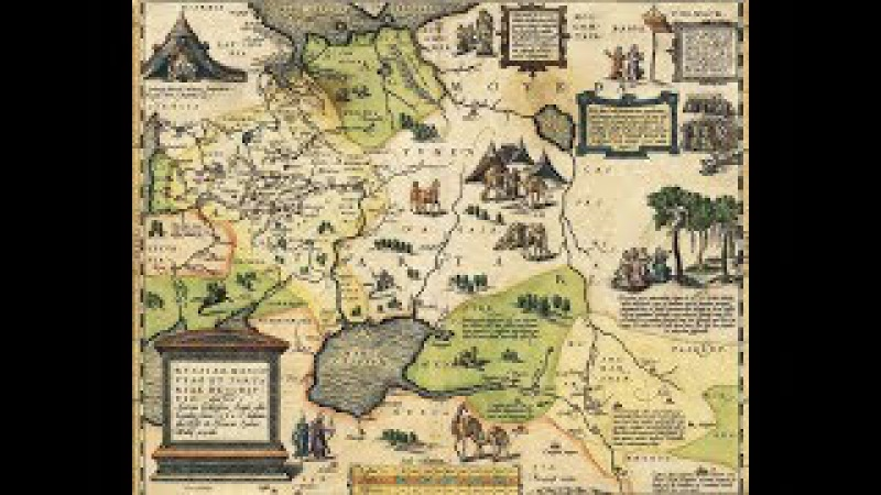 Удивительная карта России Московии и Тартарии