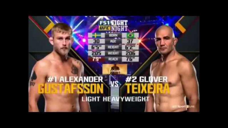 Alexander Gustafsson vs Glover Teixeira FULL FIGHT HIGHLIGHTS UFC STOCKHOLM