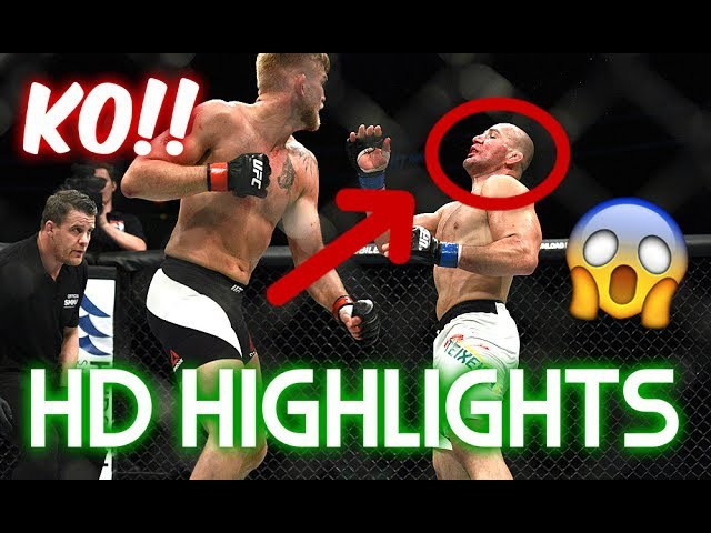 Alexander Gustafsson vs Glover Teixeira HIGHLIGHTS HD BEST MOMENTS