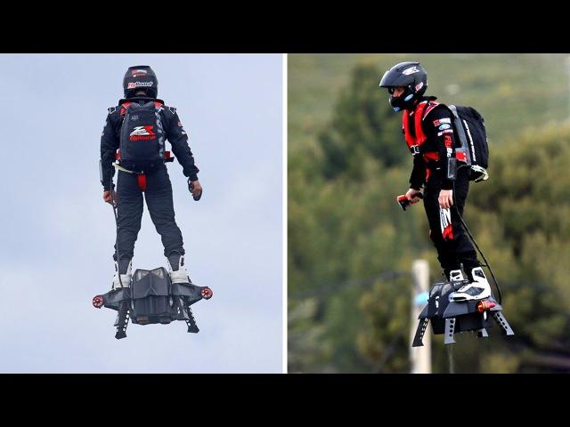 8 НЕВЕРОЯТНЫХ ховербордов и летающих мотоциклов