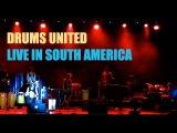 Lucas van Merwijk DRUMS UNITED LIVE IN SOUTH AMERICA