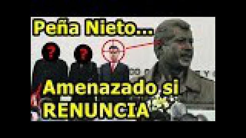 Peña Nieto quiere renunciar pero Carlos Salinas de Gortari lo amenaza si Peña Nieto renuncia