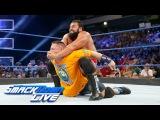 Rusev blindsides John Cena ahead of their Flag Match SmackDown LIVE, July 18, 2017