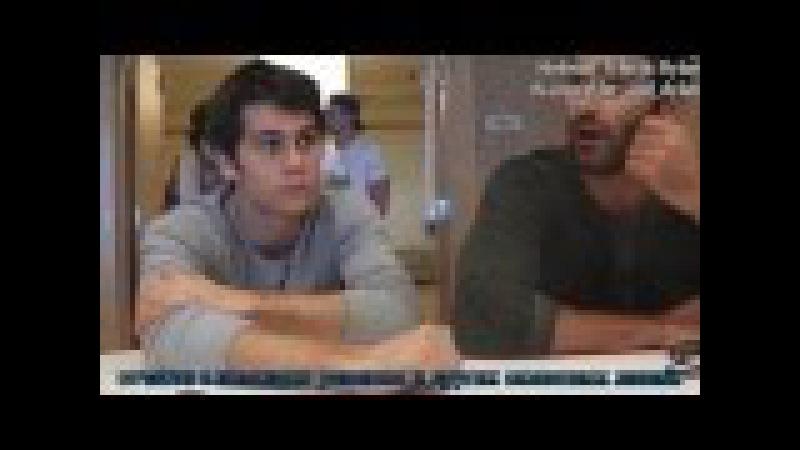Тайлер Хеклин и Дилан О'Брайен. SDCC 2013 2