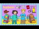Deutsch lernen: das Verb haben Urlaub, Ferien und Reisen - Holidays, Traveling: Learn German