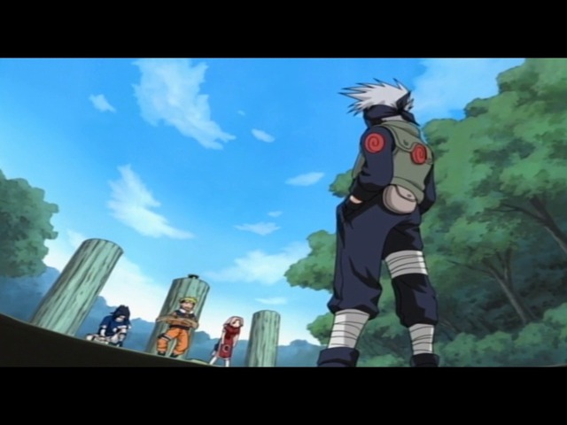 Наруто 5 серия (Дисквалифицированы Заключение Какаси)