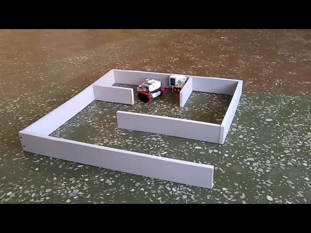 НПК робот-пожарный для обследования лабиринтов