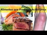 Alimentos que Producen Acido Urico