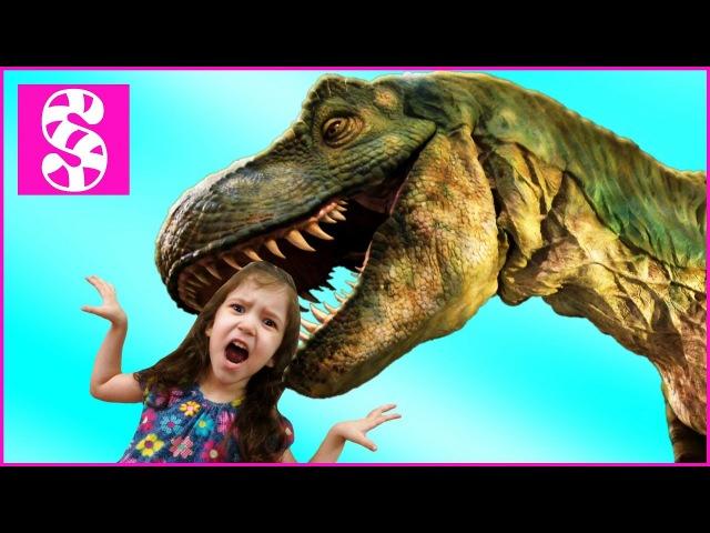 ЗЛОЙ ДИНОЗАВР АТАКУЕТ Bad Baby 😱 Динозавр съел девочку. DINOSAUR ATTACKS Bad Baby