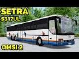OMSI 2 - Обзор автобуса Setra S317UL. Fikcyjny Szczecin, маршрут 259